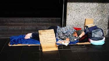 The word homeless usually evokes images like the one here - a man sleeping rough. But we must acknowledge the diversity of the homeless population if we are to truly tackle the problem.