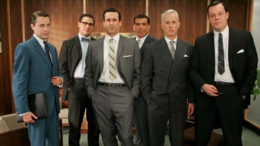 The Mad Men series is helping to renew interest in male grooming.