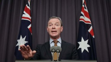 Gonski reform: Education Minister Christopher Pyne announces changes to the Coalition's school funding policy.