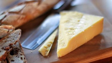 """Australia's best cheddar"" ... Pyengana cheese comes highly recommended."
