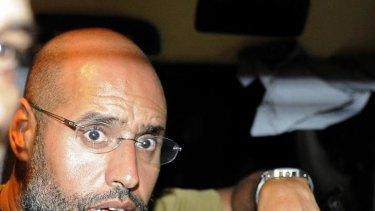 Fight will go on ... Saif al-Islam.