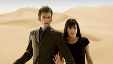 Sands of time ... Doctor Who pursues a jewel thief and rescues a small planet named Earth.