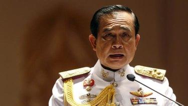 Leader of the Thai junta, army chief General Prayuth Chan-ocha.