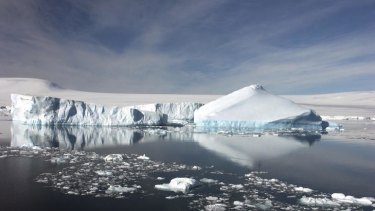 Jo Chandler draws on her experience in the Antarctic in <i>Feeling the Heat</i>.