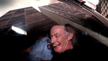 Ivan Milat leaving an unsuccessful appeal hearing in 1997.