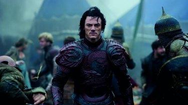 Seeking blood: Luke Evans as Vlad in Dracula Untold.