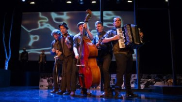 Mikelangelo and the Black Sea Gentlemen provide evocative music in Ghosts in the Scheme.