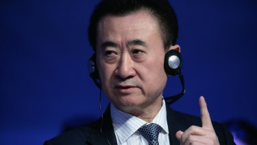 Wanda Group president Wang Jianlin a year ago boasted that his company would see off Disney's Shanghai resort.