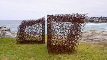 Cochrane's piece - Steel Stack Monument - will be among the works at Sculptures By the Sea.