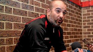 Southern Stars coach Zaya Younan, who has been charged.