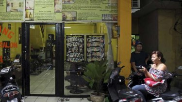 The owner of the Kuta spa where the arrest took place.