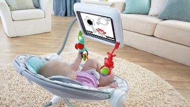 Fisher-Price's Newborn-to-Toddler Apptivity Seat.