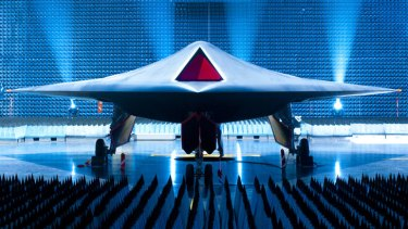 BAE's Taranis is a prototype unmanned combat aircraft, with a stealthy profile that (with a human operator) can hit targets at long range. Some see it as a precursor to truly autonomous killer robots. Picture: BAE Systems