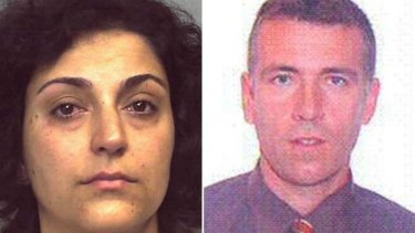 Arrested: Naghemeh and Brett King, who absconded with their son Ashya.