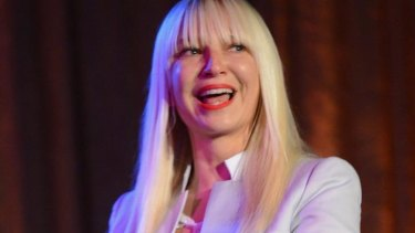 Pop singer Sia was one of two solo female artists in the top 20, with her hit <i>Chandelier</i>.