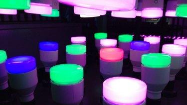 What the LIFX light-bulb looks like.