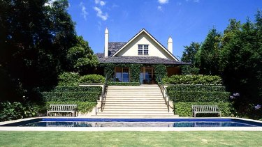 Fit for a gladiator ... the $10 million Rose Bay property.