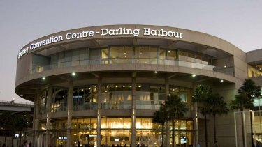Going … the Convention Centre could be torn down in an overhaul of Darling Harbour.