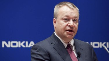 Nokia chief executive Stephen Elop can see the way ahead for the company that has lost massive market share.