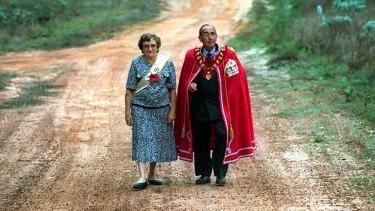 Australia's royals: Princess Shirley and Prince Leonard.