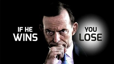 Labor's new advertisement attacks Tony Abbott (If He Wins - You Lose).