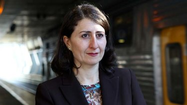 """That data ... was essentially very preliminary data, from what I understand"" ... Gladys Berejiklian has dismissed concerns that overcrowding was forcing passengers to wait for later connecting trains to avoid overcrowding."