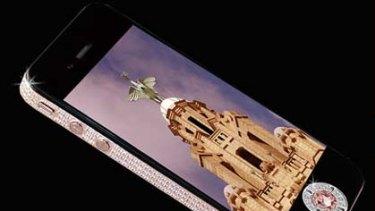 Diamond-clad iPhone 4.