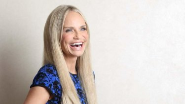 """""""I don't just stand there and sing!"""" ... Star of musical theatre, film and television, Kristin Chenoweth, in Australia."""