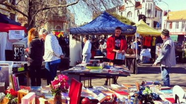 A survey showed most Newtown businesses supported the weekend markets.