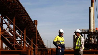 Wages ... grew lowest in the mining industry, climbing only 0.5 per cent in the quarter.