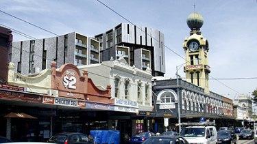 Artist's impression of the planned development in Swan Street, Richmond.