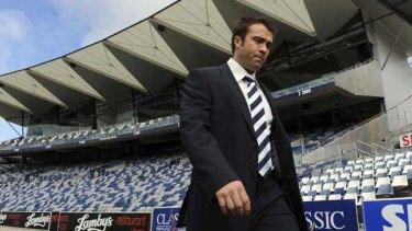 New Geelong coach Chris Scott.