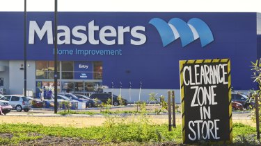 Former Woolies executive chairtman Paul Simons says the struggling Masters brand is 'worth persevering with.'