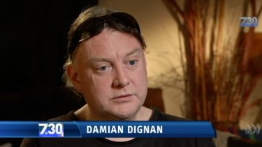 Damian Dignan was a pupil at St Alipius primary school in Ballarat.