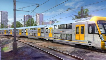 High stakes ... the north-west rail link will cost an estimated $8 billion.