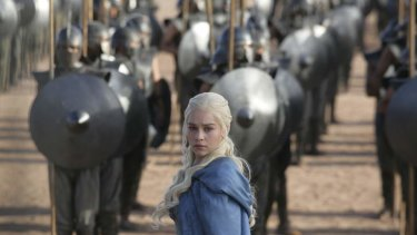 Daenerys Targaryen (Emilia Clarke) is having more difficulty controlling her feisty dragons as she travels with her new army.