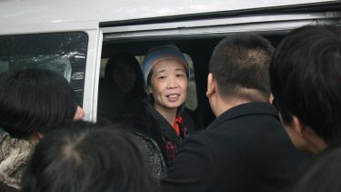 Charlotte Chou was released from Guangzhou No.1 Detention Centre last weekend.