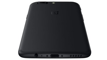 The OnePlus 5 features a USB-C charge port but sticks with the standard 3.5mm headphone jack.