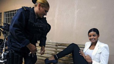 No laughing matter ... Belgica Nataly Suarez has been found not guilty.