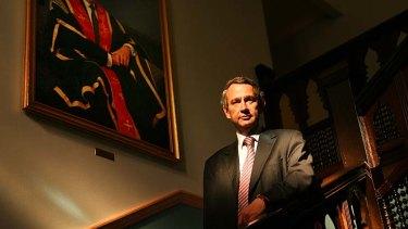 Opposed ... Greg Craven, vice-chancellor at the Australian Catholic University.