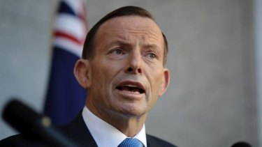 Searching for growth opportunities: Prime Minister Tony Abbott.