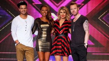 <i>The X Factor</i> returns with judges Guy Sebastian, Mel B, Natalie Bassingthwaighte and Ronan Keating.