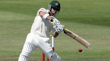 Top target ... Phillip Hughes hit a century in both innings of the Durban Test in 2009, but Steyn says the Proteas will make it tougher for him this time.