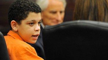 Tough start in life ... Cristian Fernandez in court.
