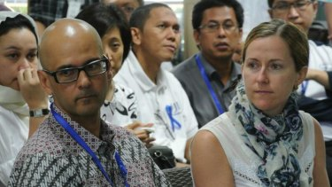 Accused of rape: Canadian schoolteacher Neil Bantleman, with his wife Tracy.