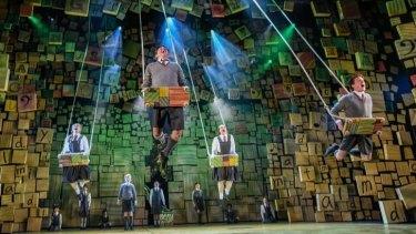 <i>Matilda the Musical</i> at the Lyric Theatre.