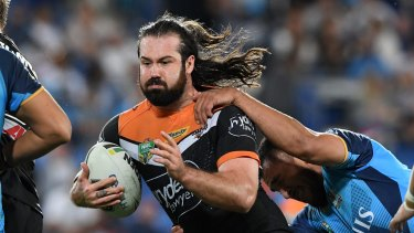 Big money: Aaron Woods will join the Bulldogs next season.