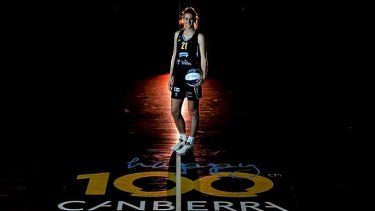 Canberra Capitals youngster Carley Mijovic could step up for the Opals.