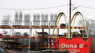 McDonald's in the US has seen a slide in sales for the past six-straight quarters.