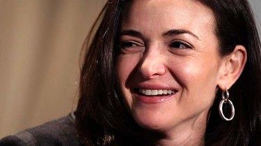 Sheryl Sandberg: No armchair activist.